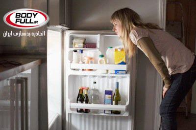 یخچال مجرم اصلی در شکم چاق