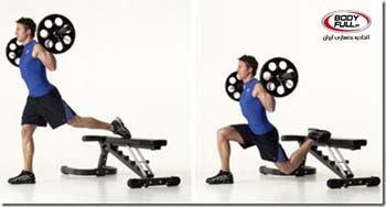 پایین تنه را با یک تمرین تک پا پرورش دهید