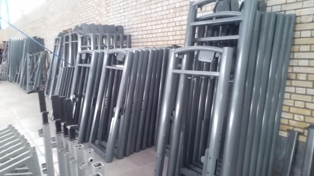 سالن منتاژ دستگاههای بدنسازی بادی فول