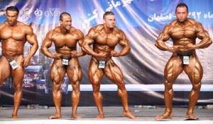 مسابقات بدنسازی وپرورش اندام کشوری اصفهان 92